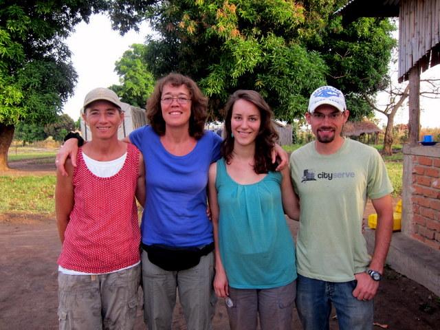 Carolyn, Angela, Emily and Eric (L- R)
